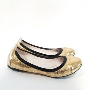 Vince Camuto Elisee Ballet Flat 7 M Copper Mirror